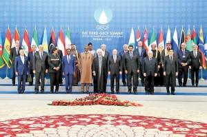 سران مجمع کشورهای صادرکننده گاز به ایران آمدند / عکس: پایگاه اطلاعرسانی ریاستجمهوری