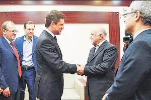 دوشنبه 2 آذر - دیدار وزرای انرژی ایران و روسیه