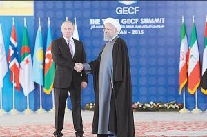 دوشنبه 2 آذر - دیدار پوتین و روحانی قبل از نشست سران مجمع
