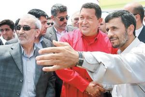 هوگو چاوس در بازدید از عسلویه در تیر 1386
