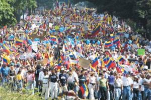 تظاهرات مخالفان چاوس در سال 2002